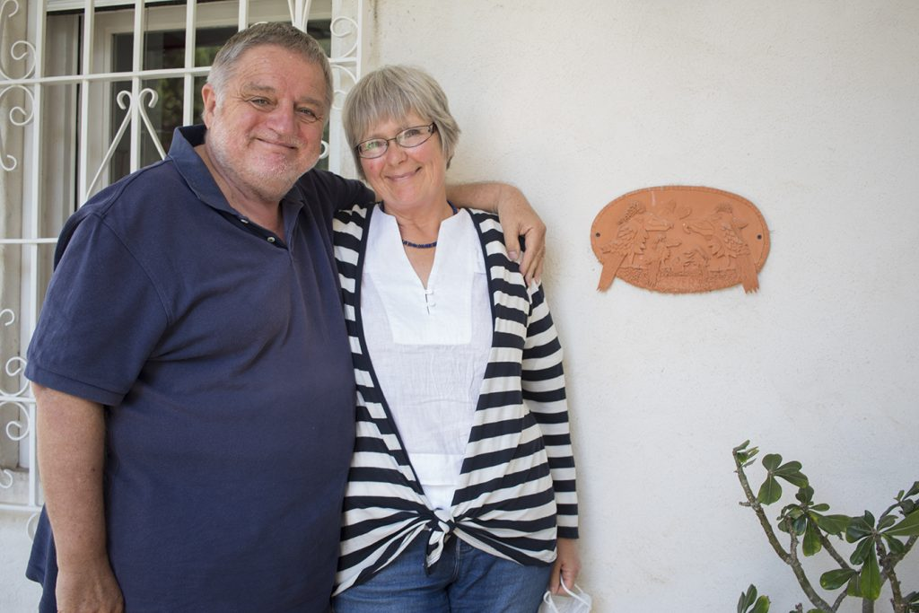 Michael y Anke Geyer. Foto por Melanie Lupiáñez